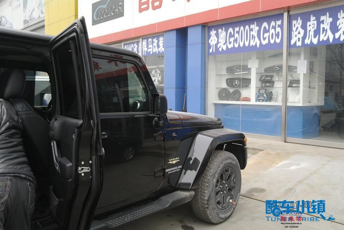 酷车坊座椅改装jeep牧马人-案例-酷车小镇